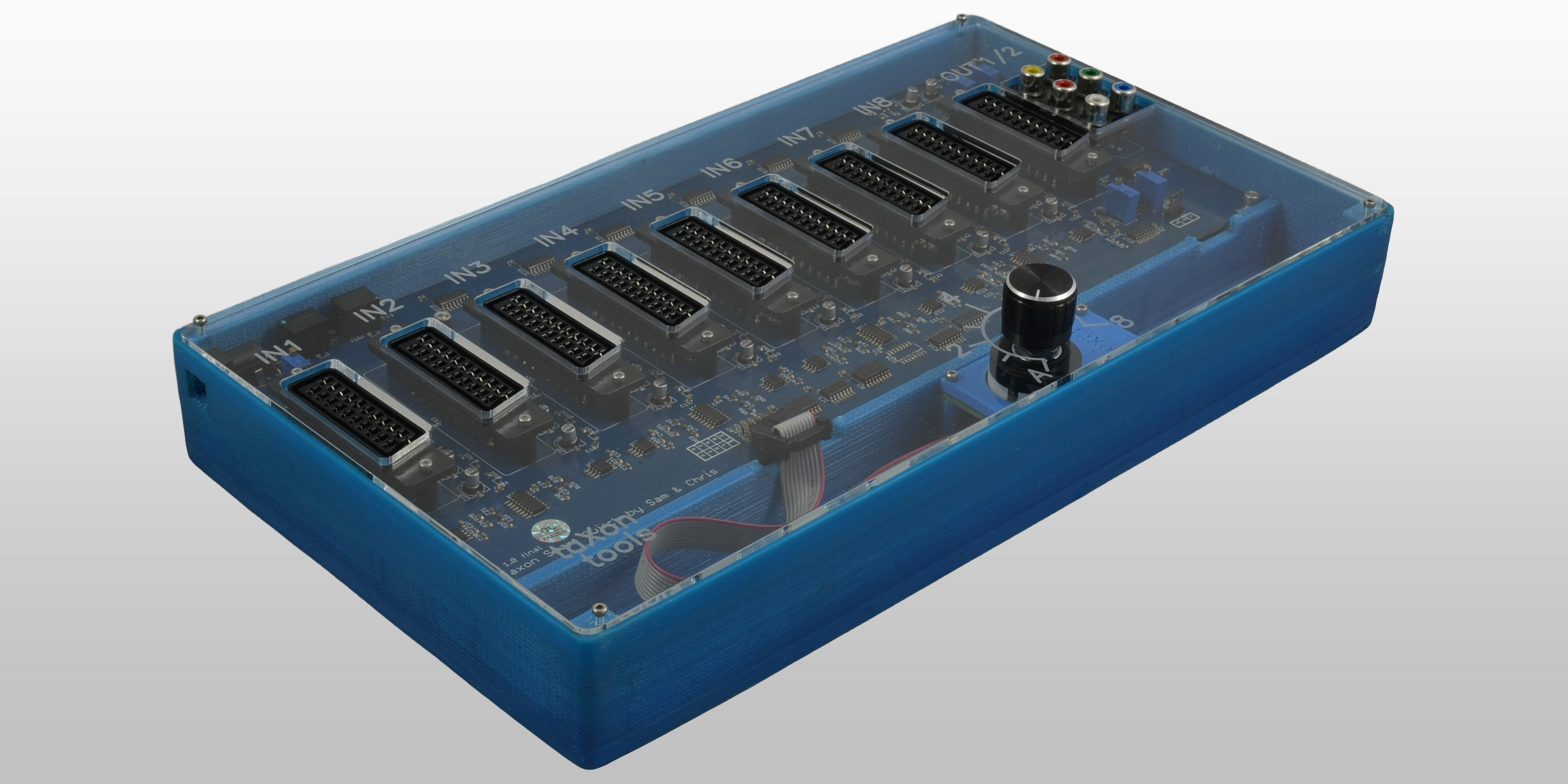 Product image of Taxon Scart Switch